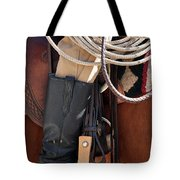 Cowboy Tack Tote Bag
