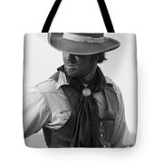 Cowboy Turning Tote Bag