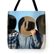 Cowboys Anonymous Tote Bag