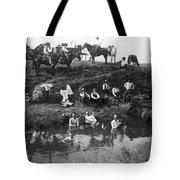 Cowboys Bathing Tote Bag