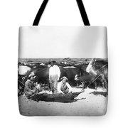 Cowboys Branding Cattle C. 1900 Tote Bag