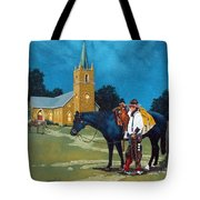 Cowboy's Prayer Tote Bag