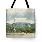 Cowboys Stadium Tote Bag