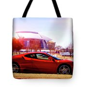 Cowboys Stadium V2 Tote Bag