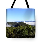 Cowee Overlook At Black Rock Mountain State Park Tote Bag