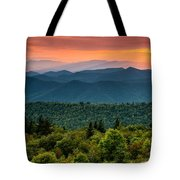 Cowee Sunset. Tote Bag