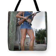 Cowgirl 019 Tote Bag
