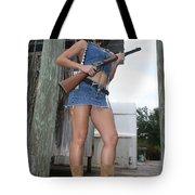 Cowgirl 020 Tote Bag