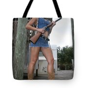 Cowgirl 021 Tote Bag