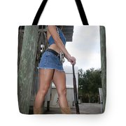 Cowgirl 023 Tote Bag