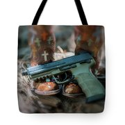 Cowgirl Shabby Chic Tote Bag