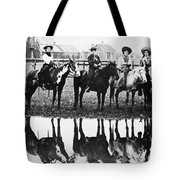 Cowgirls, 1907 Tote Bag