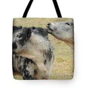 Cowlick Tote Bag