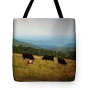Cows At Doughton Park Tote Bag