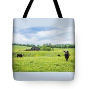 Cows In The Country Tote Bag