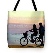 Cox Bay Bike Tote Bag