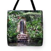 Coyaba Garden Ornamental Fountain Tote Bag