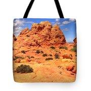 Coyote Buttes Pastel Landscape Tote Bag