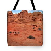 Coyote Buttes Pink Landscape Tote Bag