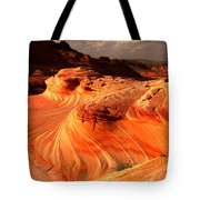 Coyote Buttes Rainbow Dragon Tote Bag
