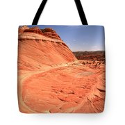 Coyote Buttes Swirling Sandstone Tote Bag
