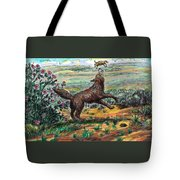 Coyote Joy Tote Bag