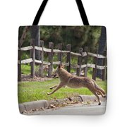Urban Coyote Tote Bag