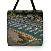 Coyote Point Yacht Club In San Mateo, California Tote Bag
