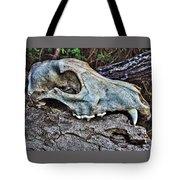 Coyote Skull Tote Bag