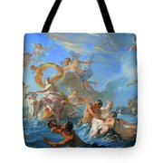 Coypel's The Abduction Of Europa Tote Bag