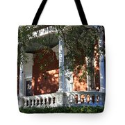 Cozy Savannah Porch Tote Bag