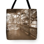 Cozy Southern Porch Tote Bag