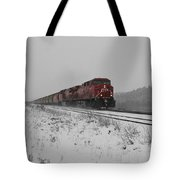 Cp Rail 2 Tote Bag by Stuart Turnbull