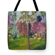 Crab Apple Blossom Time Tote Bag
