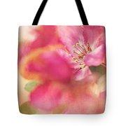 Crab Apple Blossoms II Tote Bag