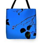 Crab Apples Blue Sky 6510 Tote Bag