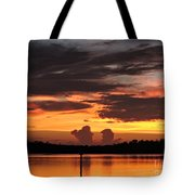 Crab Claw Skyline Tote Bag