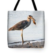 Crab Dinner Tote Bag