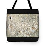 Crab Dugout Abstract Tote Bag