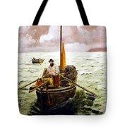 Crab Fisherman Tote Bag