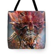 Crab King Tote Bag