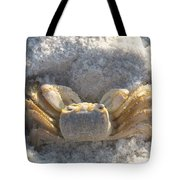 Crab On The Beach Tote Bag