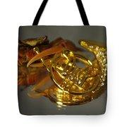 Crab Play Horn Tote Bag