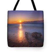 Crab Trap Sunset Le Tote Bag