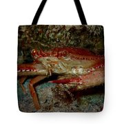 Crab With A Snack Tote Bag