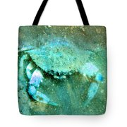 Crab With The Blues Tote Bag