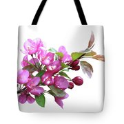 Crabapple Blossoms Tote Bag