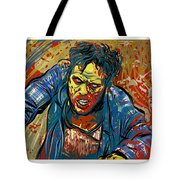 Crabby Joe Tote Bag by Antonio Romero