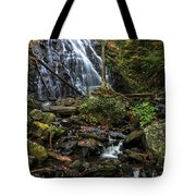 Crabtree Falls In Autumn Tote Bag