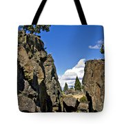 Crack In The Ground I Tote Bag